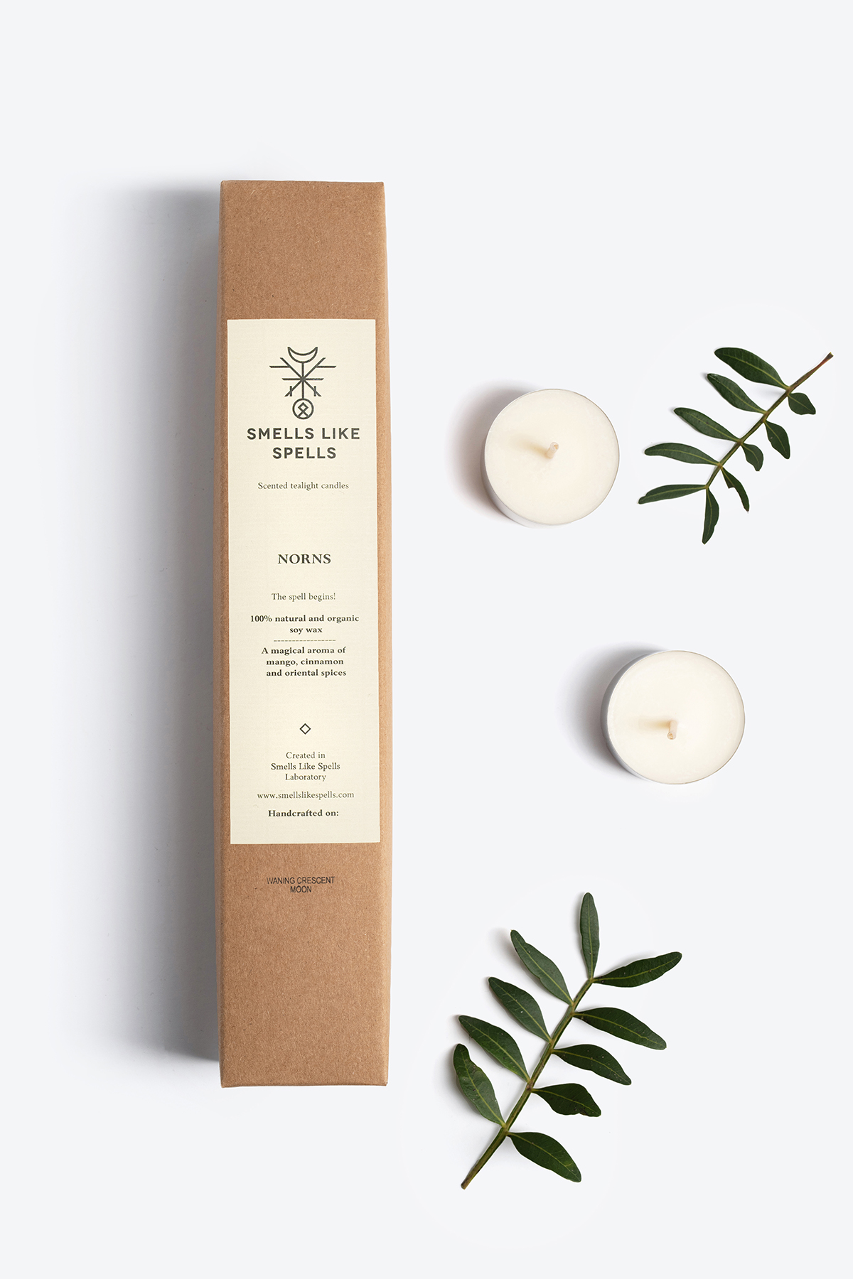 Scented tealight candles NORNS